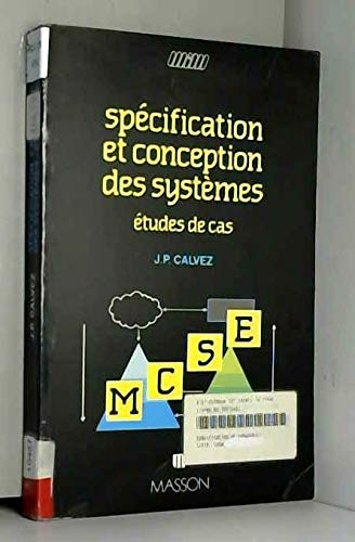 SPECIFICATION ET CONCEPTION DES SYSTEMES. Etudes de: Calvez, Jean-Paul