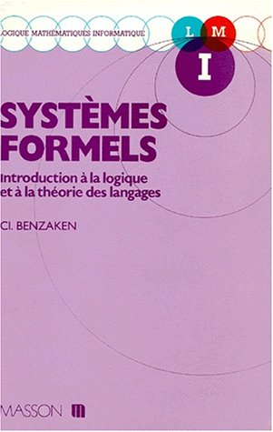 9782225825675: Syst�mes formels