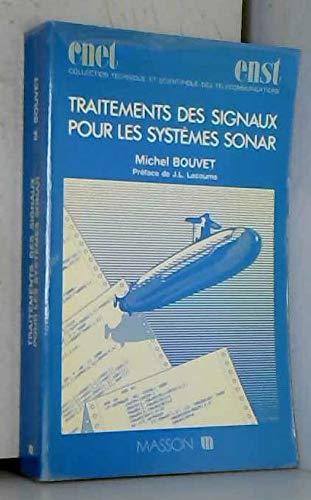 9782225826153: Traitements des signaux pour les systèmes sonar