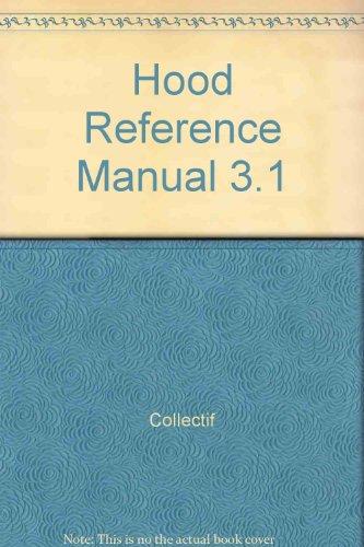 9782225828171: HOOD REFERENCE MANUAL 3.1 (Méthodologies du logiciel)