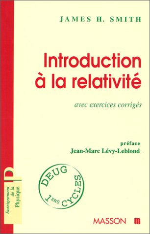 9782225829857: Introduction à la relativité