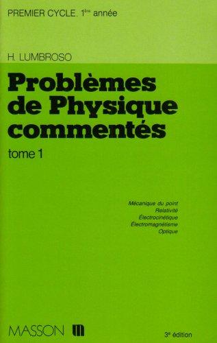 9782225839948: Problèmes de physique commentés