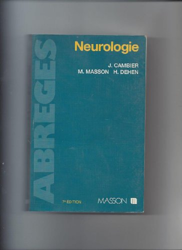 Neurologie: Cambier, Jean
