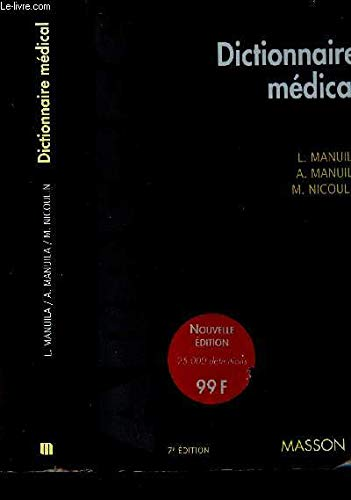 9782225848797: DICTIONNAIRE MEDICAL. 7�me �dition