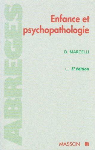 9782225853449: Enfance et psychopathologie