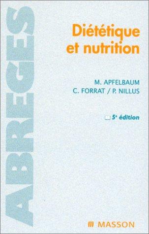 9782225858598: Diététique et nutrition