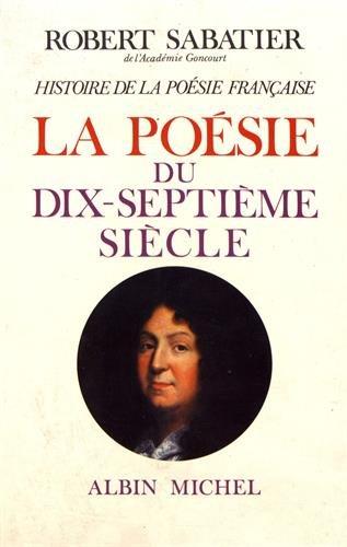 9782226002150: Histoire de La Poesie Francaise - Tome 3 (Critiques, Analyses, Biographies Et Histoire Litteraire) (French Edition)