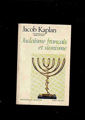 9782226002617: Judaisme francais et sionisme (Presences du judaisme) (French Edition)