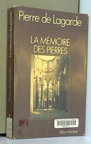9782226007575: La Mémoire des pierres
