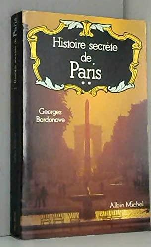 9782226010124: Histoire secrète de Paris