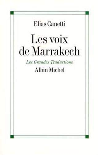 9782226010322: Les voix de Marrakech