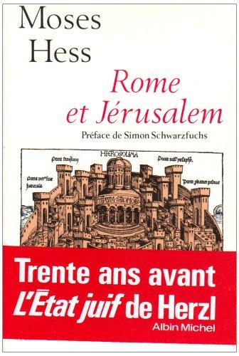 9782226011879: Rome et Jérusalem