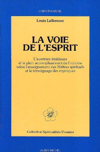 9782226014368: Voie de L'Esprit (La) (Spiritualites Grand Format) (French Edition)