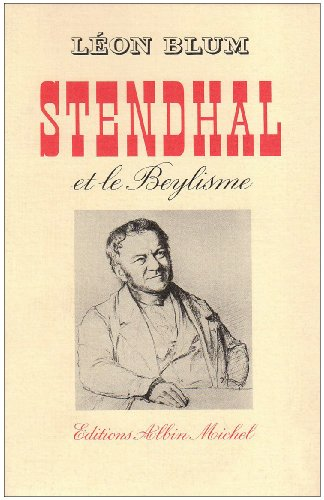 9782226017536: Stendhal et le beylisme