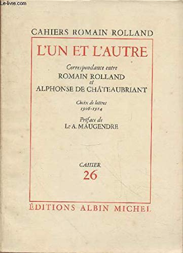 9782226019165: CAHIERS ROMAIN ROLLAND. Tome 26