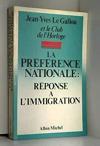 La Préférence nationale