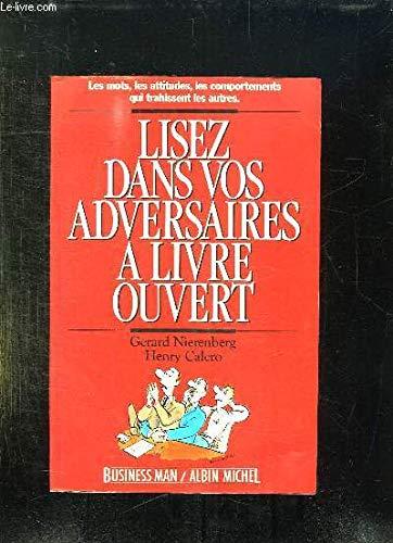 9782226025807: Lisez Dans Vos Adversaires a Livre Ouvert