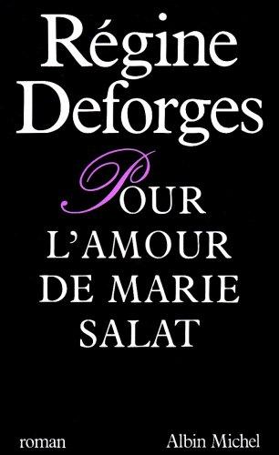 9782226026484: Pour l'amour de Marie Salat