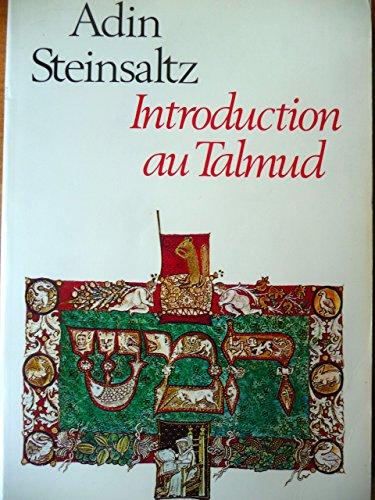 9782226028877: Introduction au Talmud