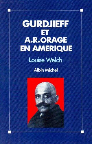 9782226039026: Gurdjieff et A.-R. Orage en Am�rique