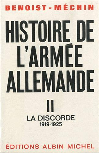9782226046253: Histoire de L'Armee Allemande - Tome 2 (French Edition)