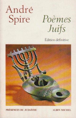 9782226047755: Poèmes juifs
