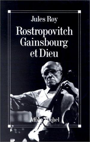 9782226056535: Rostropovitch, Gainsbourg et Dieu