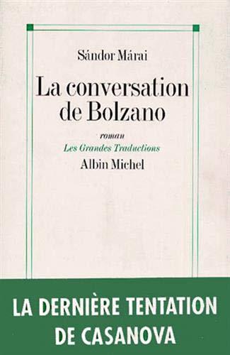 9782226058881: Conversation de Bolzano (La) (Collections Litterature) (French Edition)