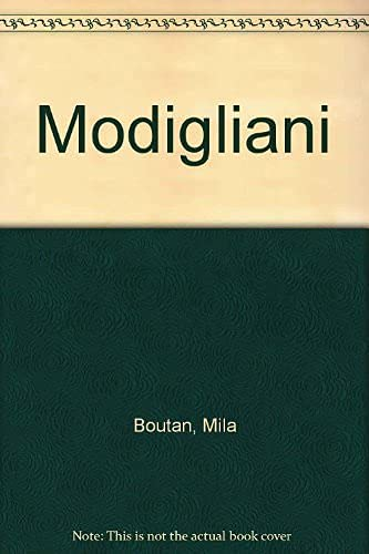 Modigliani (9782226071729) by Mila Boutan; Amedeo Modigliani