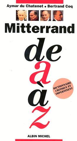 9782226076670: Mitterrand de A à Z