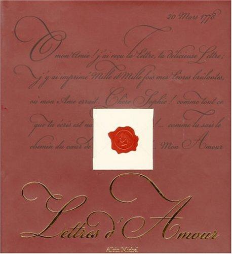 9782226079053: Lettres d'Amour