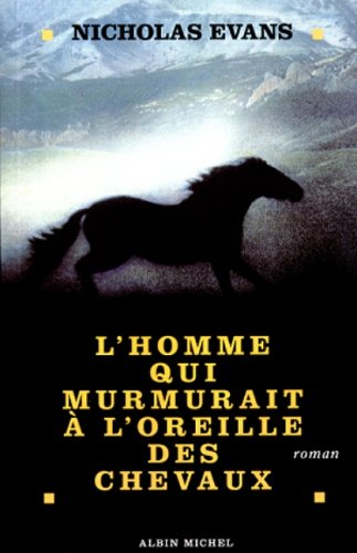 9782226084798: HOMME QUI MURMURAIT OREILLE CHEVAUX