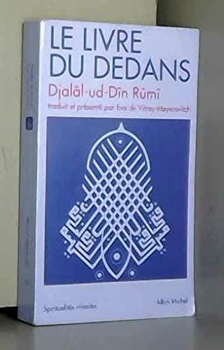 Le Livre du dedans : fihi-mâ-fihi: Mawlânâ Djalal al-Din Rumi, Eva de ...