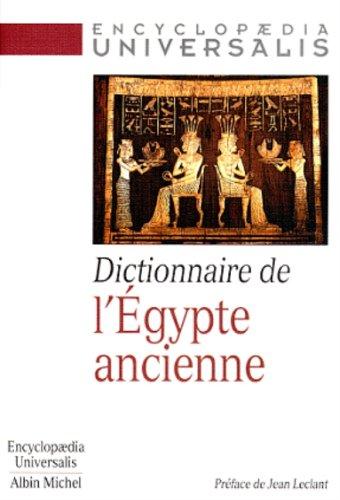 9782226096173: Dictionnaire de l'Egypte ancienne