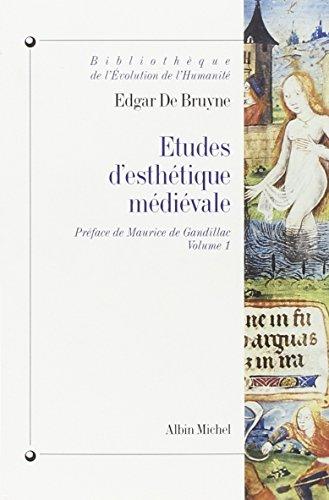 9782226099679: Etudes D'Esthetique Medievale, Volume 1 (Bibliotheque de L'Evolution de L'Humanite,)
