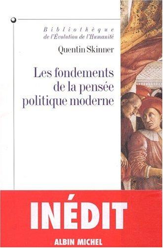 9782226117069: Les Fondements de la pensée politique moderne