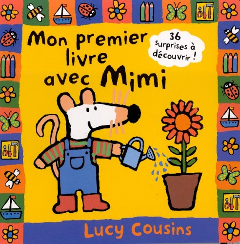 9782226118189: Mon Premier Livre Avec Mimi (English and French Edition)