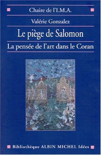 Piege de Salomon (Le) (La Chaire de L'I.M.A.,) (English and French Edition): Valerie Gonzalez