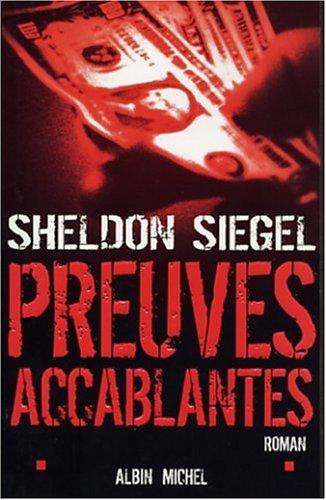 Preuves accablantes (French Edition): Siegel, Sheldon