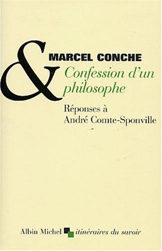 9782226136282: Confession D'Un Philosophe (Collections Sciences - Sciences Humaines) (French Edition)