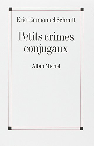 9782226141583: Petits Crimes Conjugaux (Poesie - Theatre)