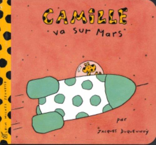 9782226153302: Camille va sur Mars