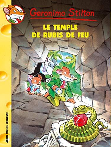 9782226170118: Le Temple Du Rubis de Feu N25 (Geronimo Stilton) (English and French Edition)