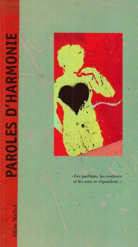 9782226182852: Paroles D'Harmonie -Nvelle Ed.-
