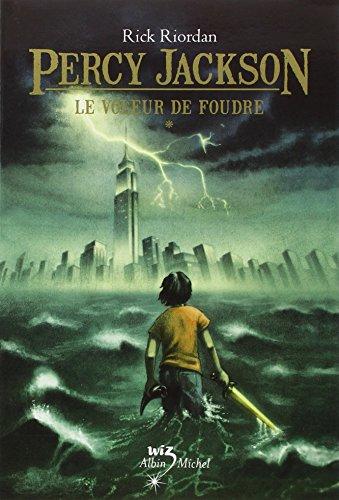 Percy Jackson T01 Le Voleur de Foudre -Film 2010 (Percy Jackson & the Olympians) (English and French Edition) - Riordan, Rick