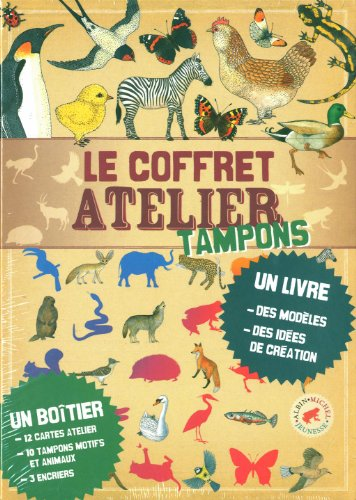 9782226221919: Le coffret atelier tampons (French Edition)