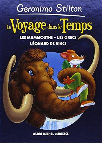 9782226240378: Le Voyage dans le temps Les mammouths, les Grecs, Léonard de Vinci #03