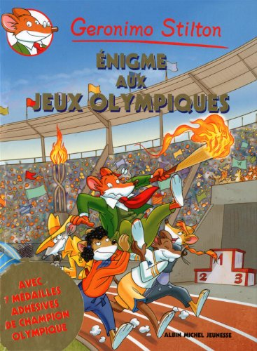 9782226242853: Geronimo Stilton : Enigme aux Jeux Olympiques