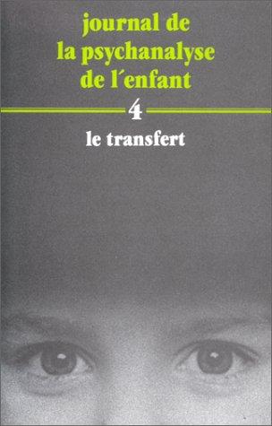 Journal de la psychanalyse de l'enfant, N°: Didier Houzel