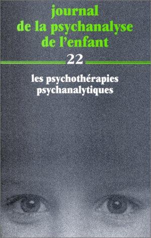Journal de la psychanalyse de l'enfant, numÃ: Collectif